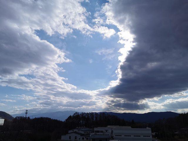 雲のワンポイント講座 partⅠ~山岳波~