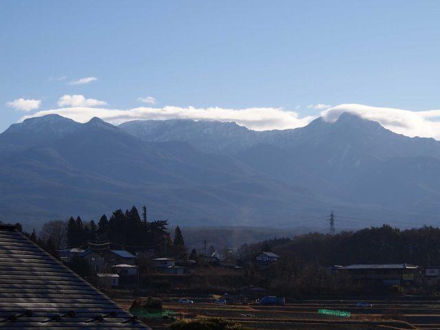 雲のワンポイント講座partⅢ~八ヶ岳の細長い雲の正体は?